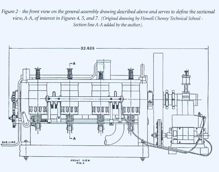 1903 wright flyer engine general assembly drawings or right click on these direct links three quarter view of the engines general arrangement figure 1 large medium front view of the general assembly ccuart Choice Image
